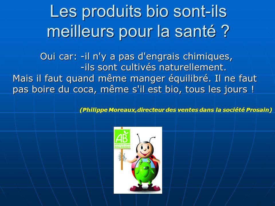 Les produits bio sont-ils meilleurs pour la santé