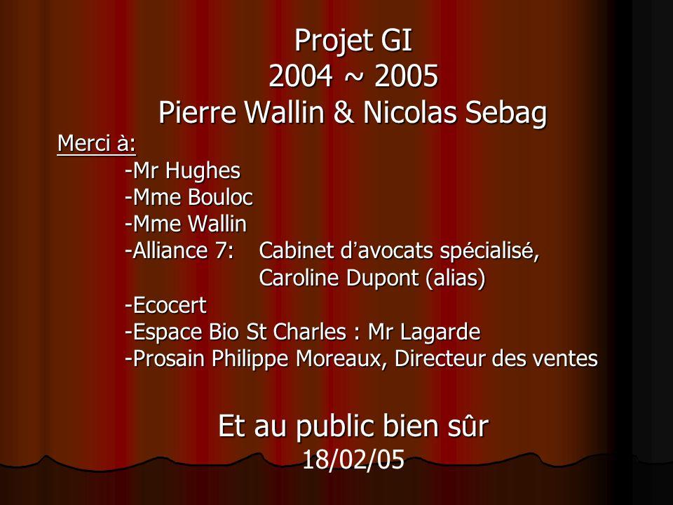 Pierre Wallin & Nicolas Sebag