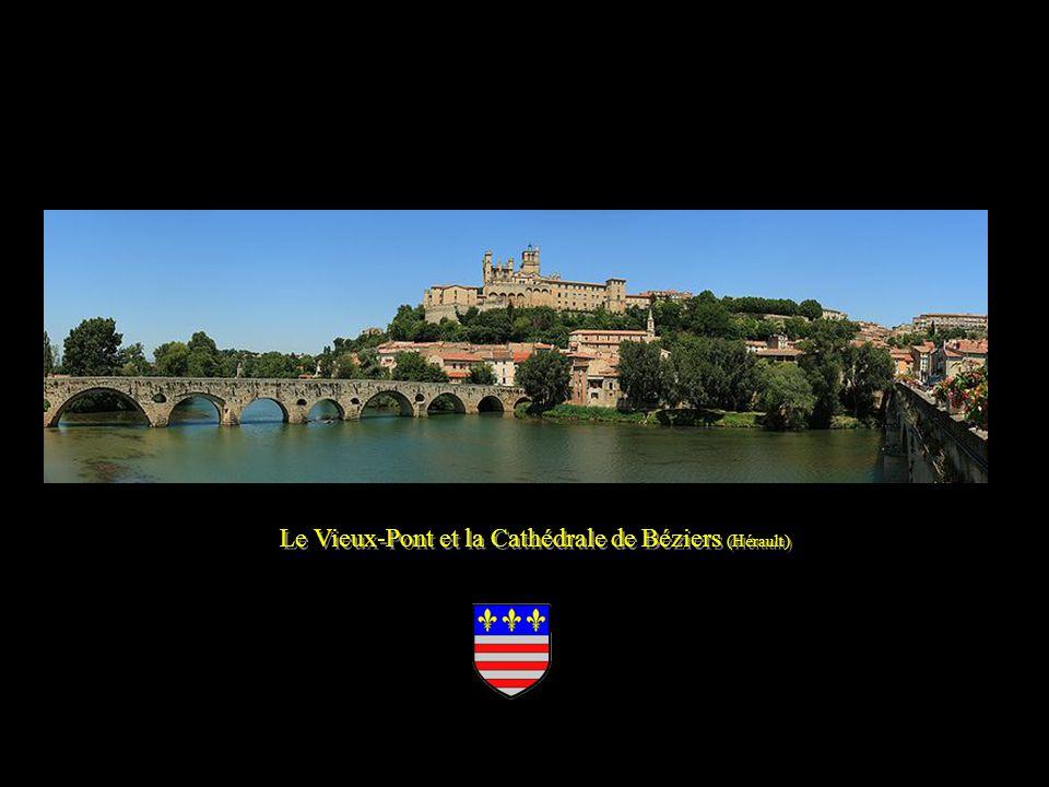 Le Vieux-Pont et la Cathédrale de Béziers (Hérault)