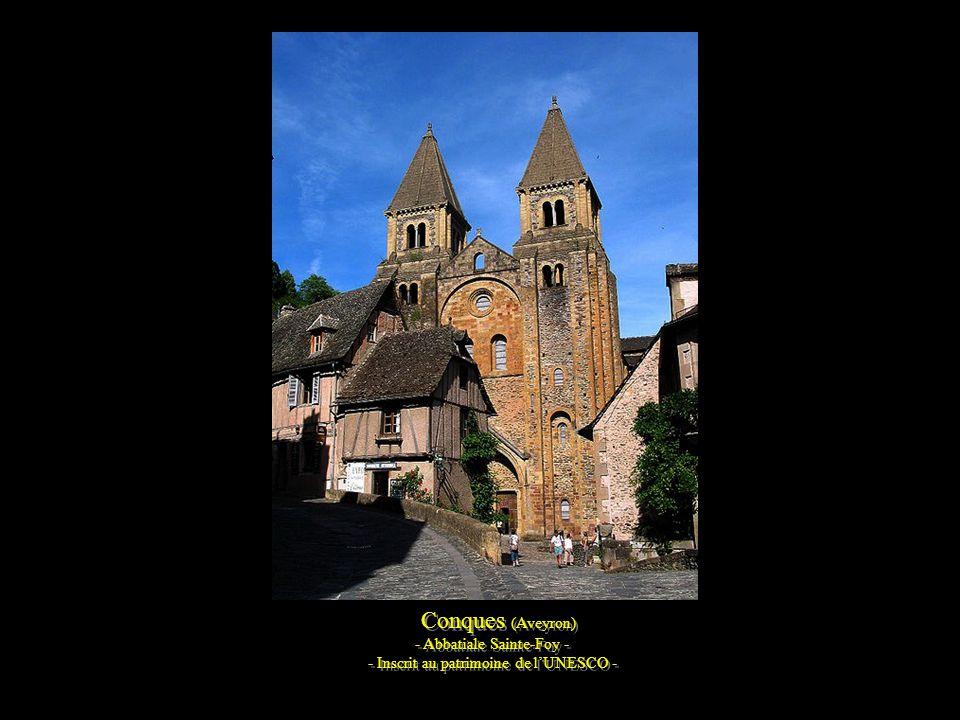 Conques (Aveyron) - Abbatiale Sainte-Foy -
