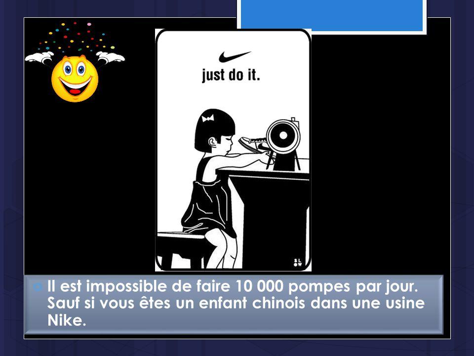 Il est impossible de faire 10 000 pompes par jour