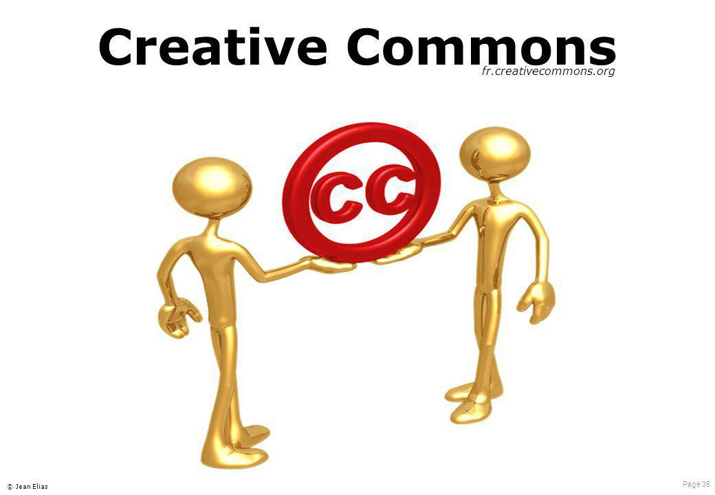 Creative Commons fr.creativecommons.org © Jean Elias