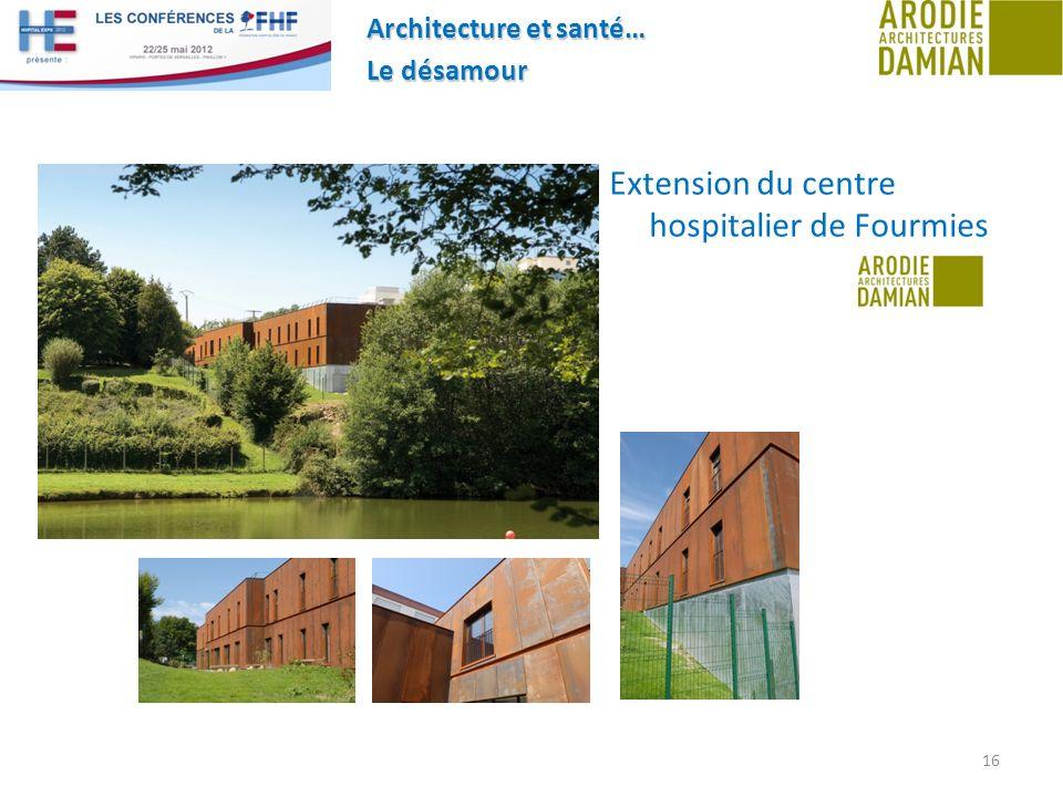 Extension du centre hospitalier de Fourmies