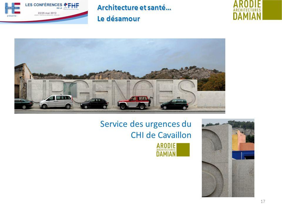 Service des urgences du CHI de Cavaillon