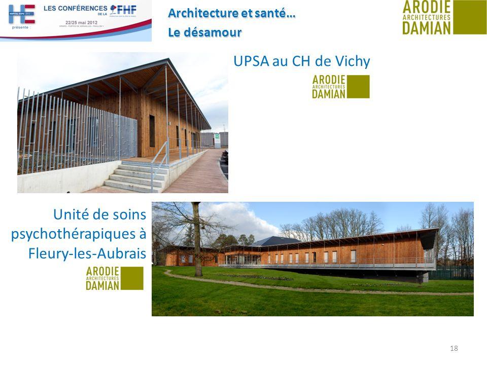 Unité de soins psychothérapiques à Fleury-les-Aubrais