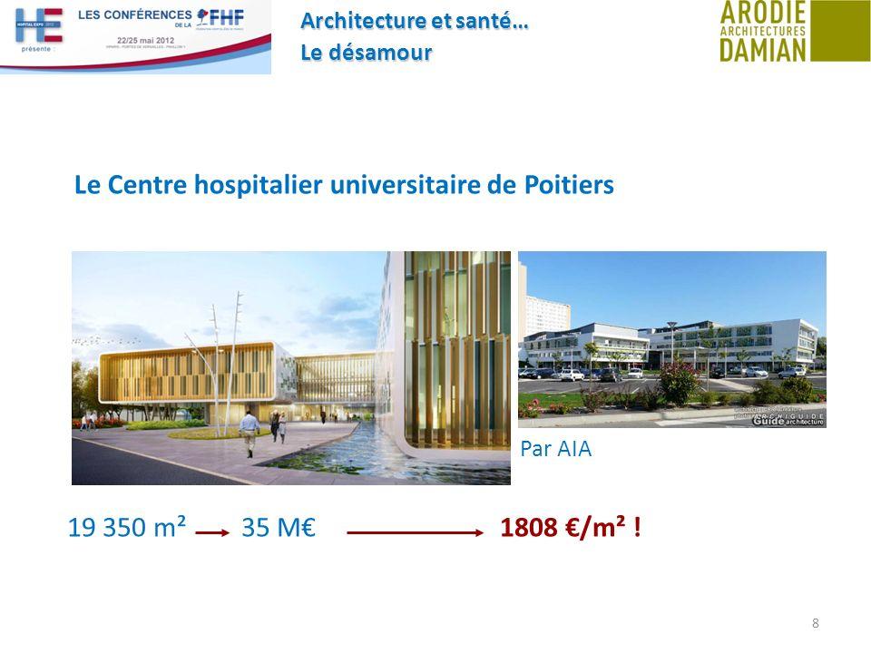 Le Centre hospitalier universitaire de Poitiers