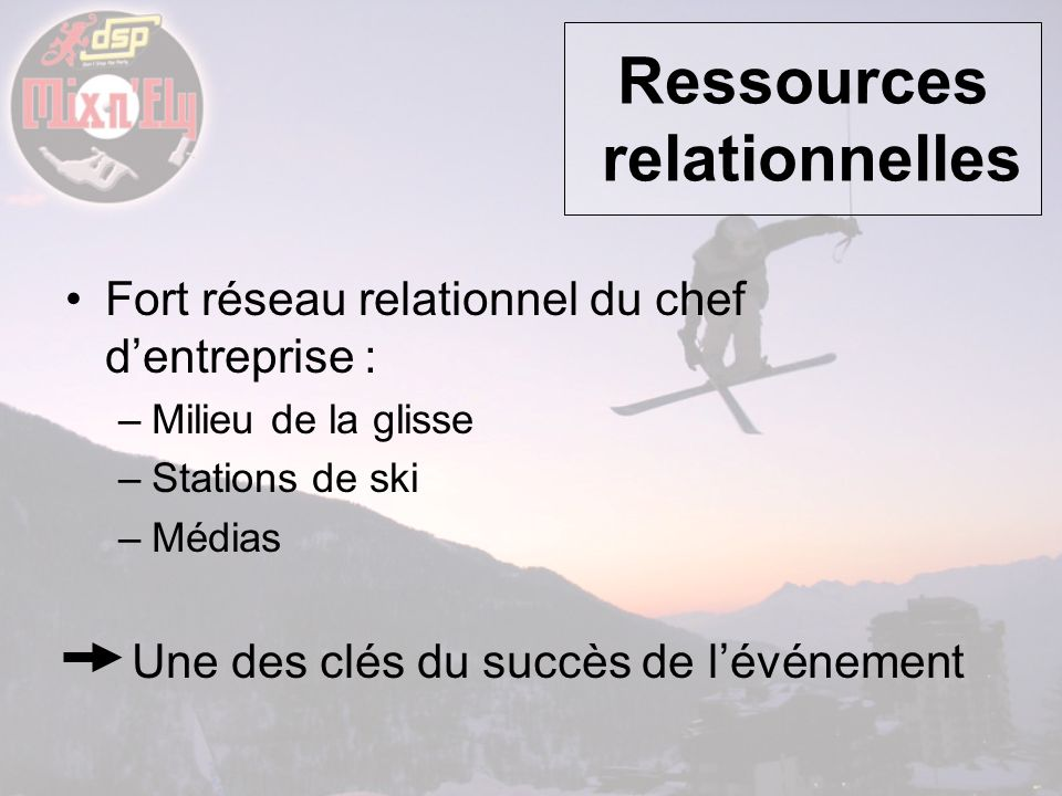 Ressources relationnelles