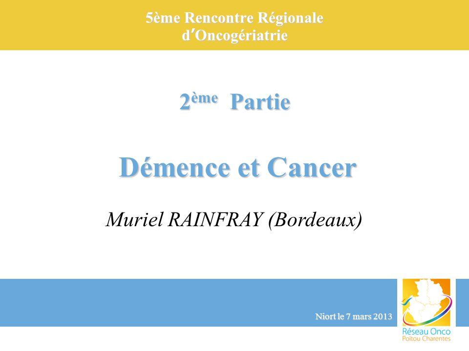 5ème Rencontre Régionale d'Oncogériatrie