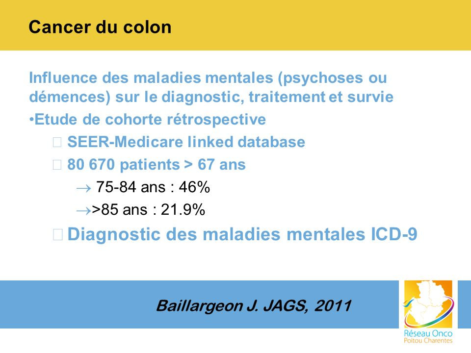 Diagnostic des maladies mentales ICD-9