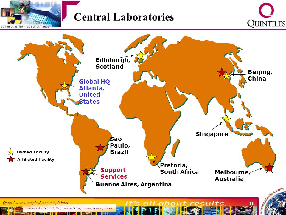 Central Laboratories Edinburgh, Scotland Beijing, China