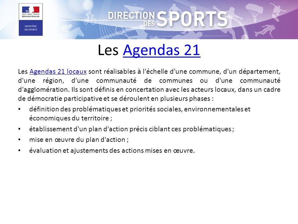 Les Agendas 21
