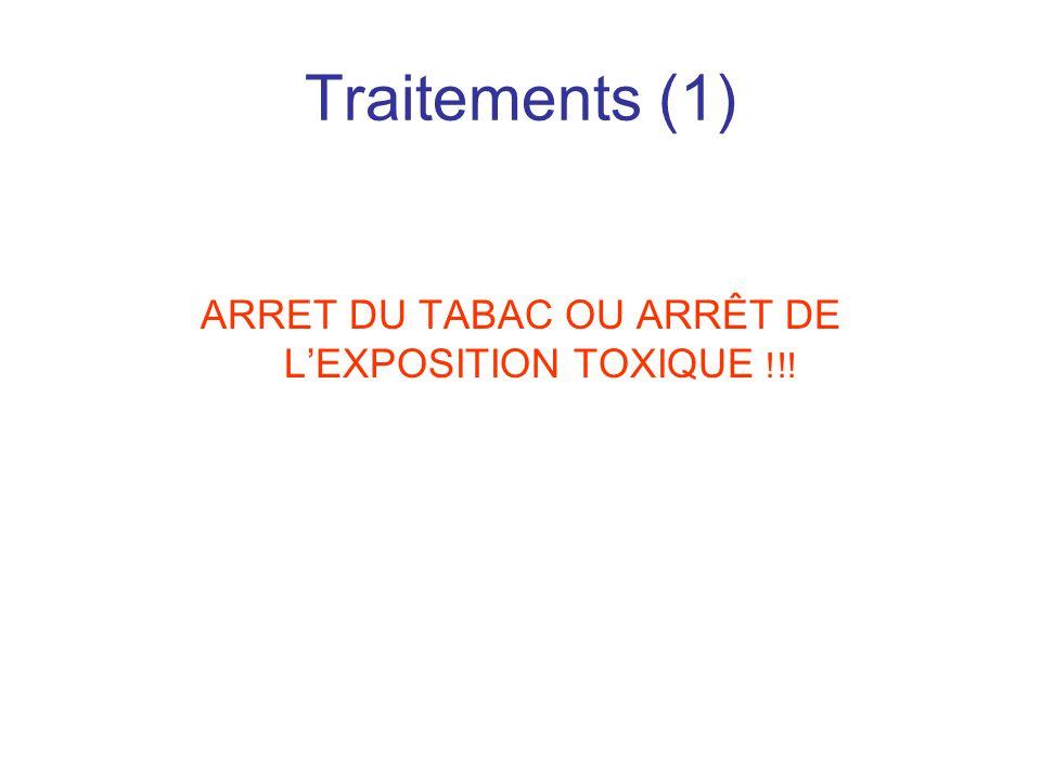 ARRET DU TABAC OU ARRÊT DE L'EXPOSITION TOXIQUE !!!
