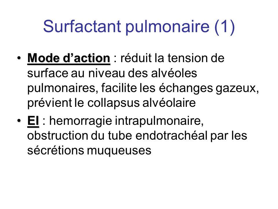 Surfactant pulmonaire (1)