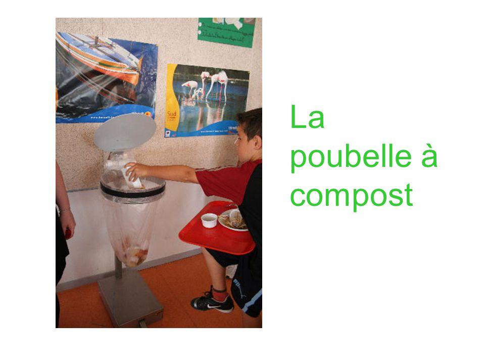 La poubelle à compost