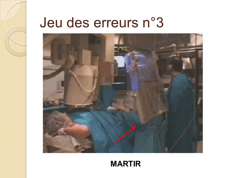 Jeu des erreurs n°3 MARTIR