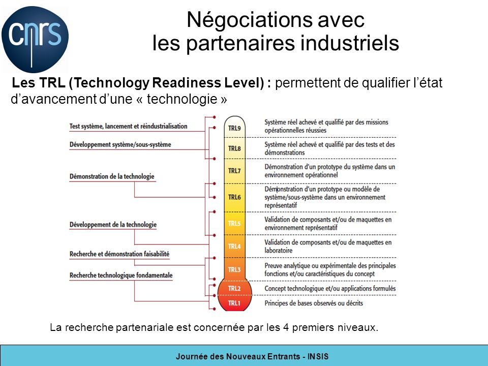 Négociations avec les partenaires industriels