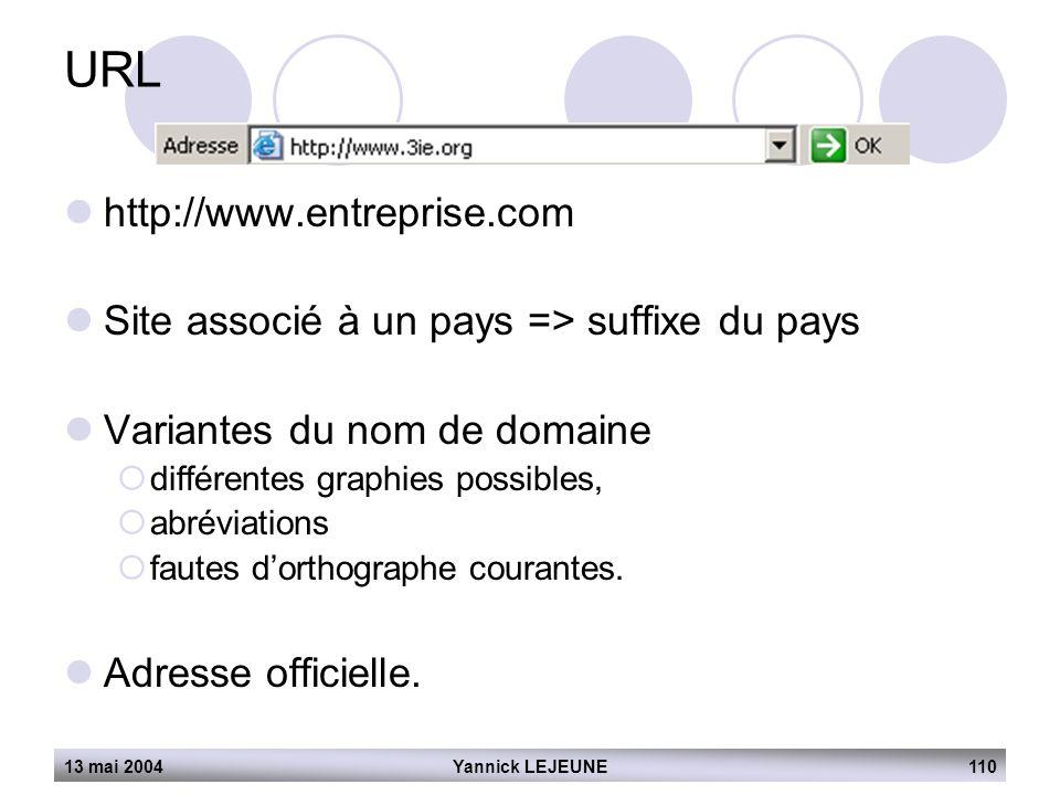 URL http://www.entreprise.com
