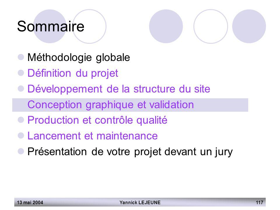 Sommaire Méthodologie globale Définition du projet