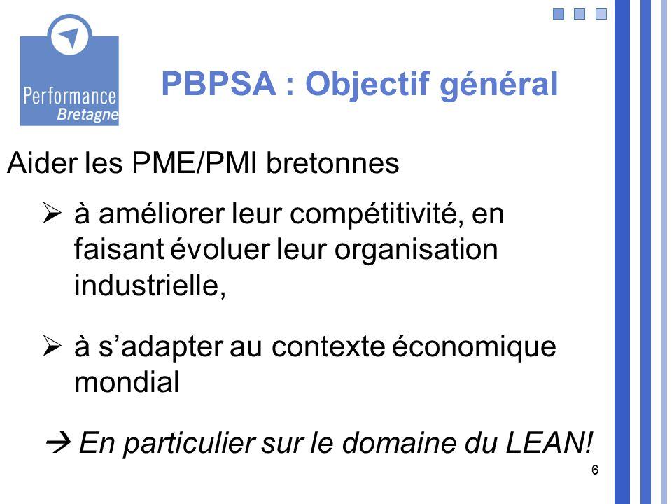PBPSA : Objectif général