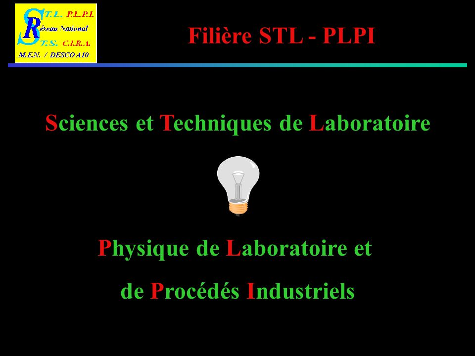 Sciences et Techniques de Laboratoire