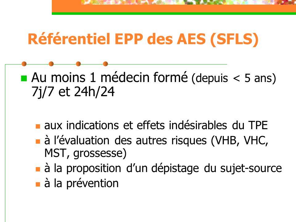 Référentiel EPP des AES (SFLS)