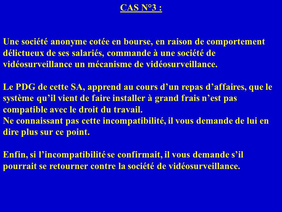 CAS N°3 :