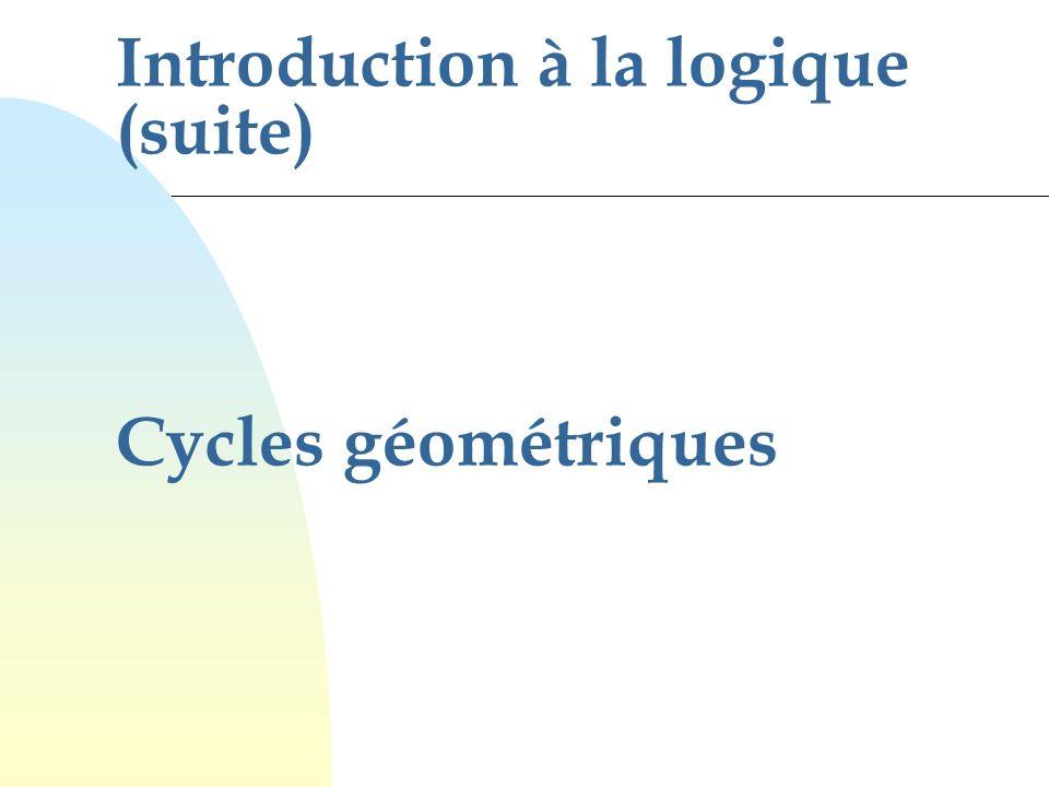 Introduction à la logique (suite)