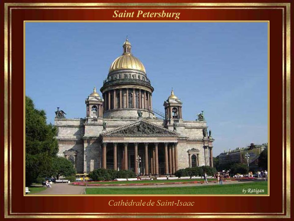 Saint Petersburg Cathédrale de Saint-Isaac
