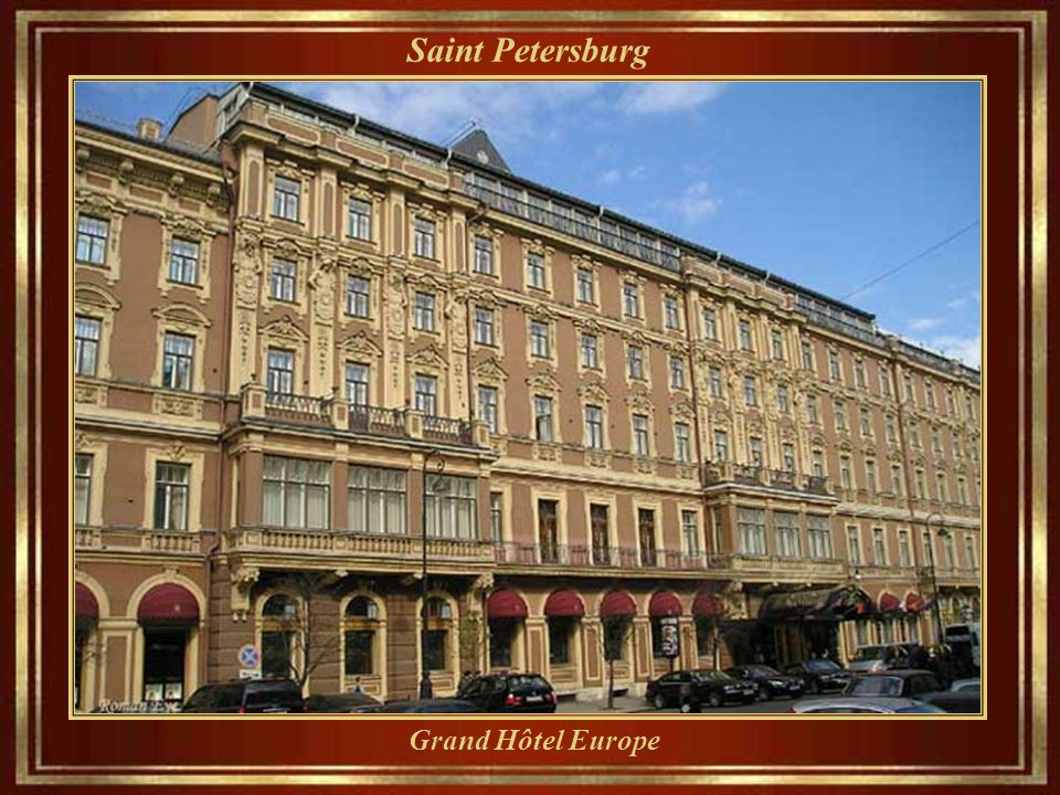 Saint Petersburg Grand Hôtel Europe