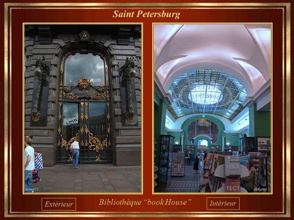 Saint Petersburg Bibliothèque book House Extérieur Intérieur