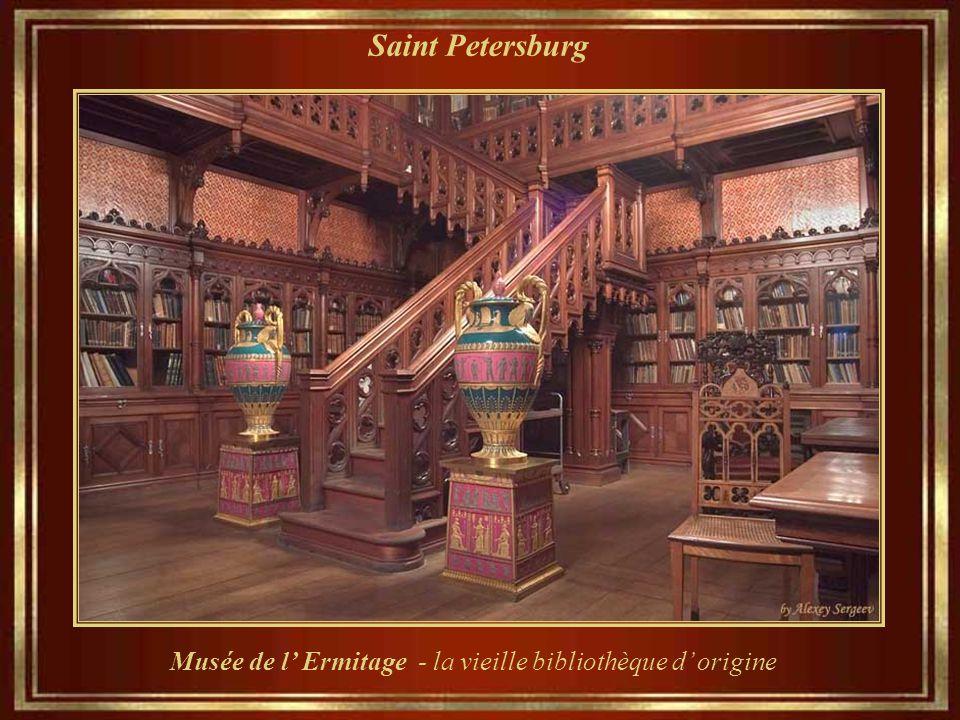 Musée de l' Ermitage - la vieille bibliothèque d' origine