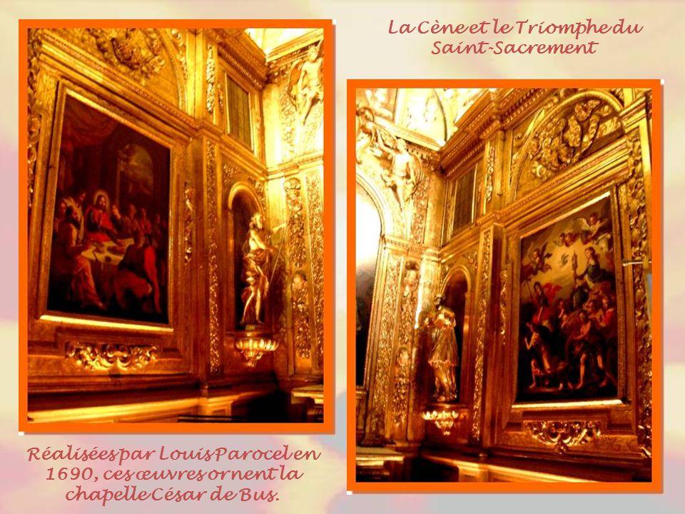 La Cène et le Triomphe du Saint-Sacrement