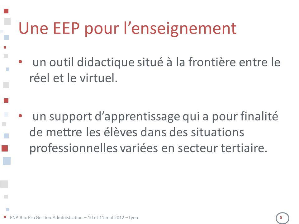 Une EEP pour l'enseignement