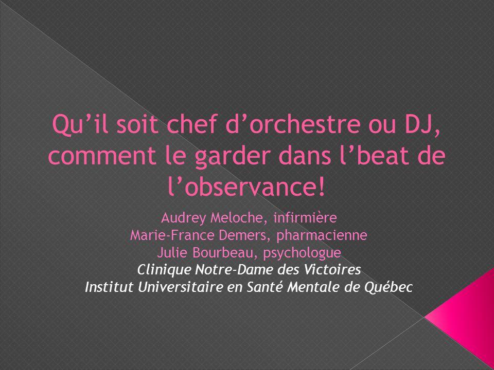 Qu'il soit chef d'orchestre ou DJ, comment le garder dans l'beat de l'observance!