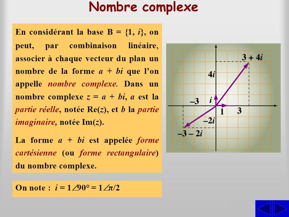 Nombre complexe