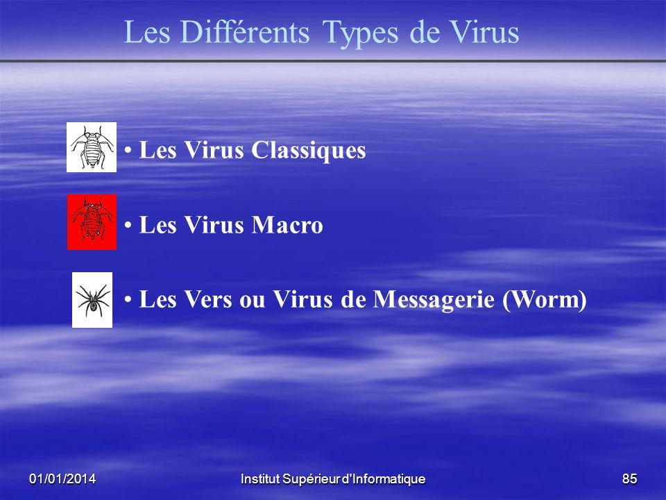 Les Différents Types de Virus