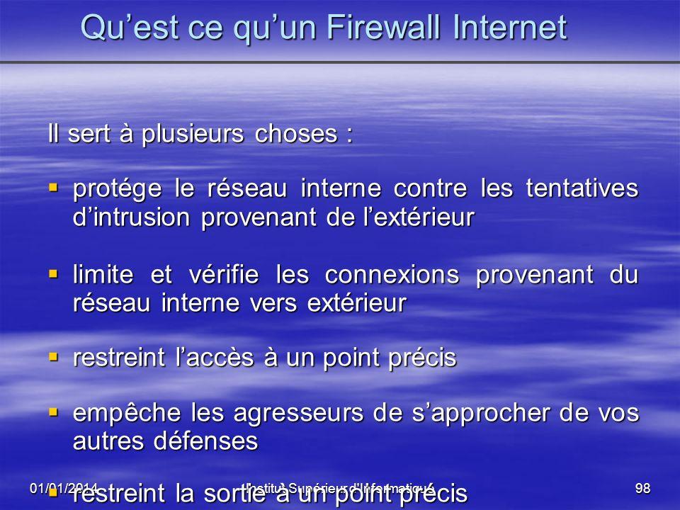 Qu'est ce qu'un Firewall Internet