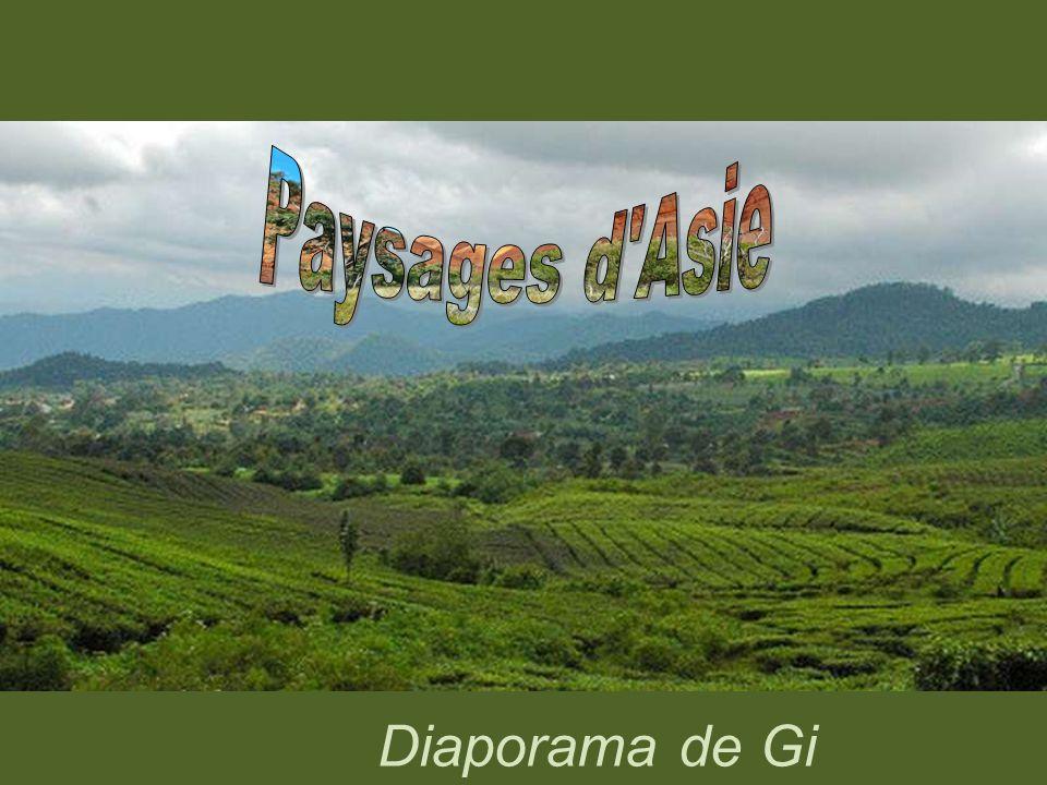 Paysages d Asie d Asie Paysages d Asie Diaporama de Gi