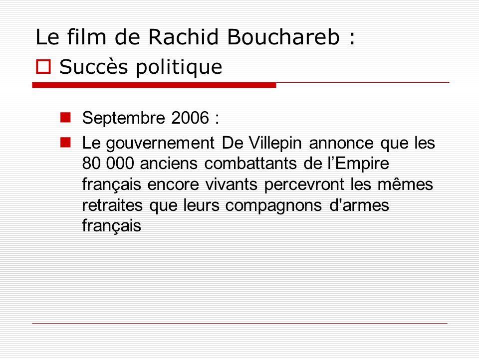 Le film de Rachid Bouchareb :