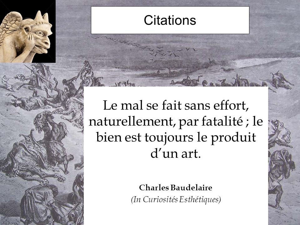 (In Curiosités Esthétiques)