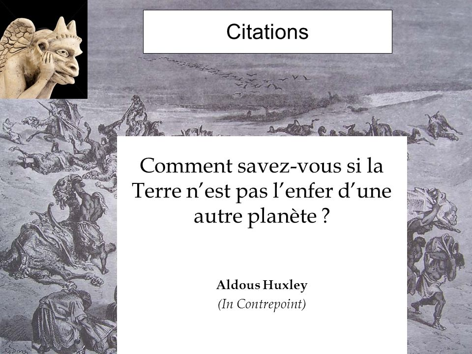 aldous huxley citation le meilleur des mondes