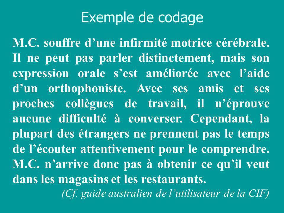 Exemple de codage