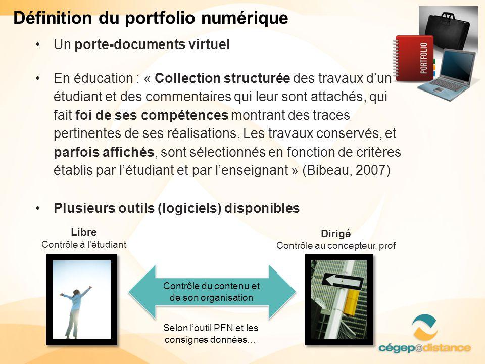 Définition du portfolio numérique