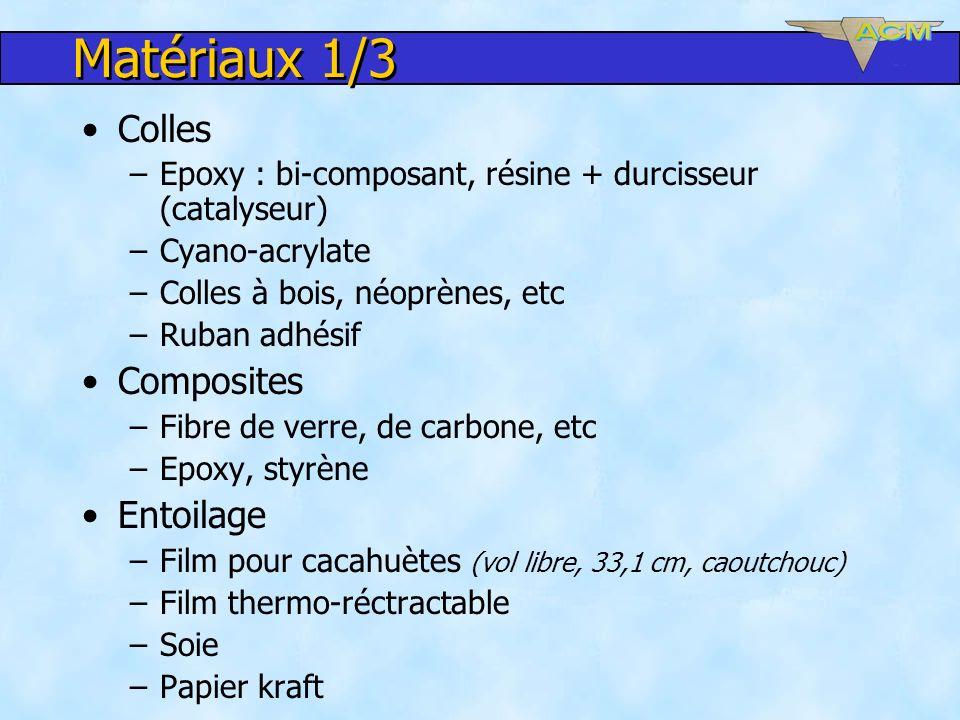 Matériaux 1/3 Colles Composites Entoilage