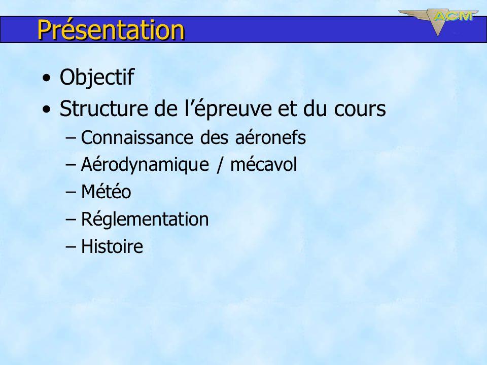 Présentation Objectif Structure de l'épreuve et du cours