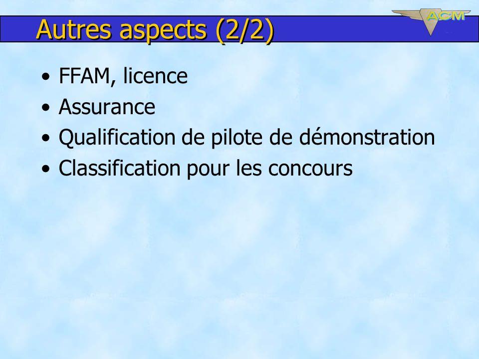 Autres aspects (2/2) FFAM, licence Assurance