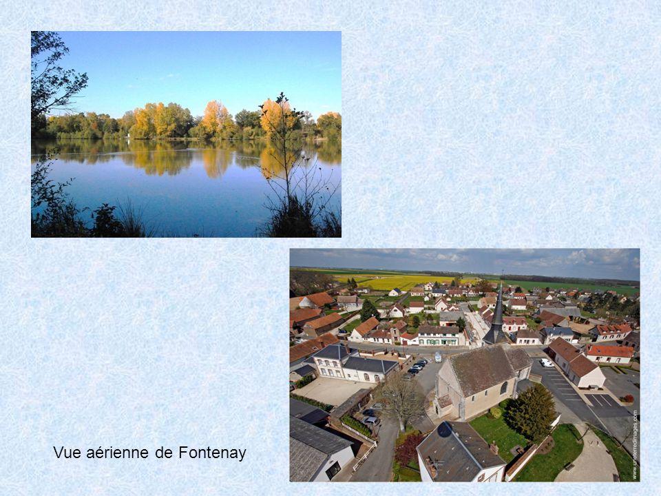 Vue aérienne de Fontenay