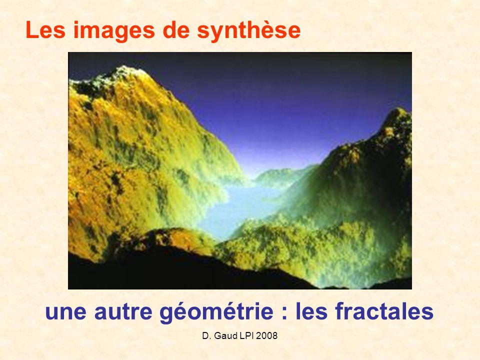 une autre géométrie : les fractales