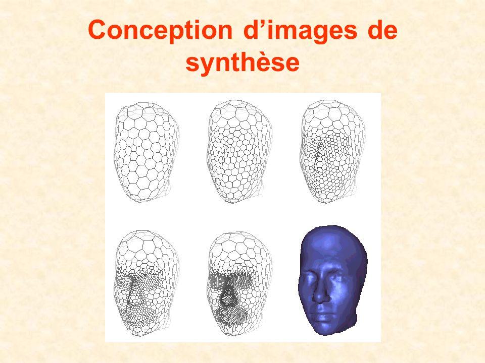 Conception d'images de synthèse