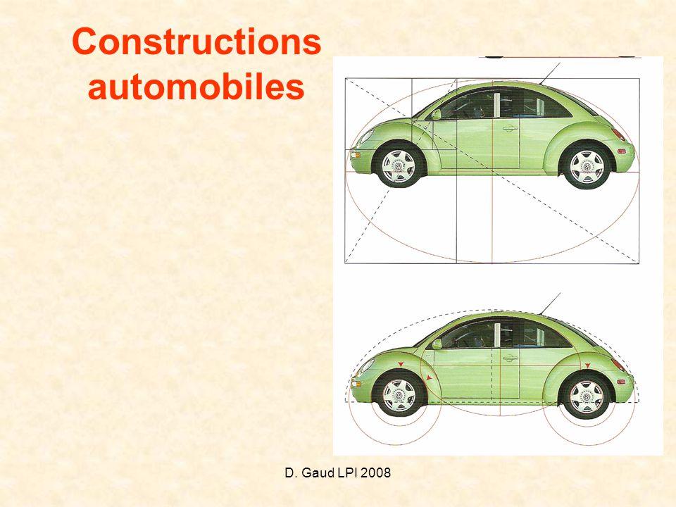 Constructions automobiles